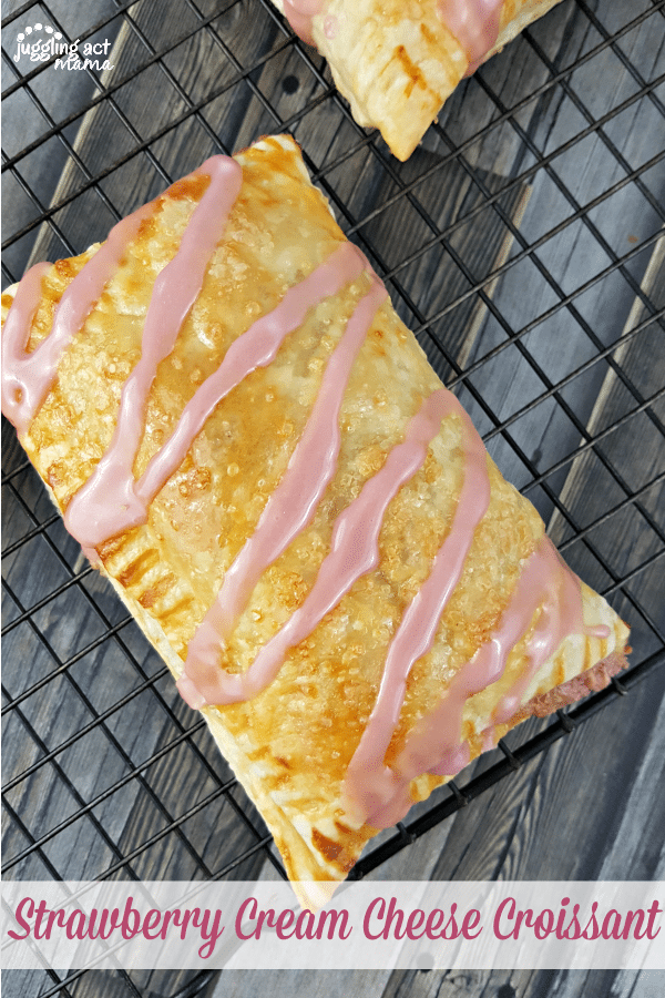 Homemade Strawberry Cream Cheese Crossiant are so much easier than you think