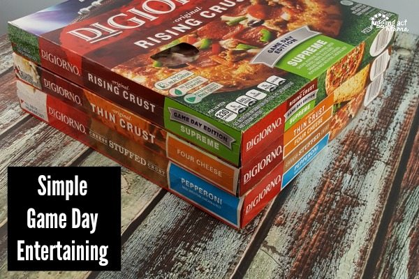 simple game day entertaining #ad