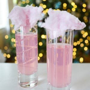 Sparkling Cotton Candy Mocktail