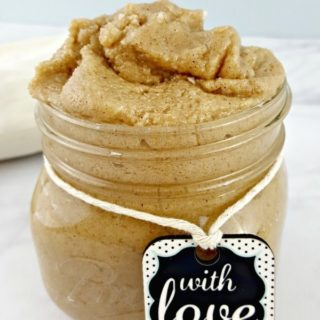 DIY Sugar Cookie Body Scrub - EASY DIY BEAUTY WITH COCONUT OIL