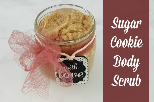 This DIY Sugar Cookie Body Scrub makes a great addition to any beauty gift basket.