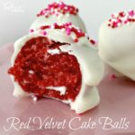 Our Red Velvet Cake Balls - Juggling Act Mama