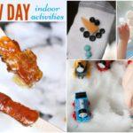 Fun Snow Day Indoor Activities