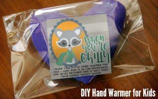 DIY Hand Warmers for Kids