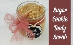 DIY Sugar Cookie Body Scrub