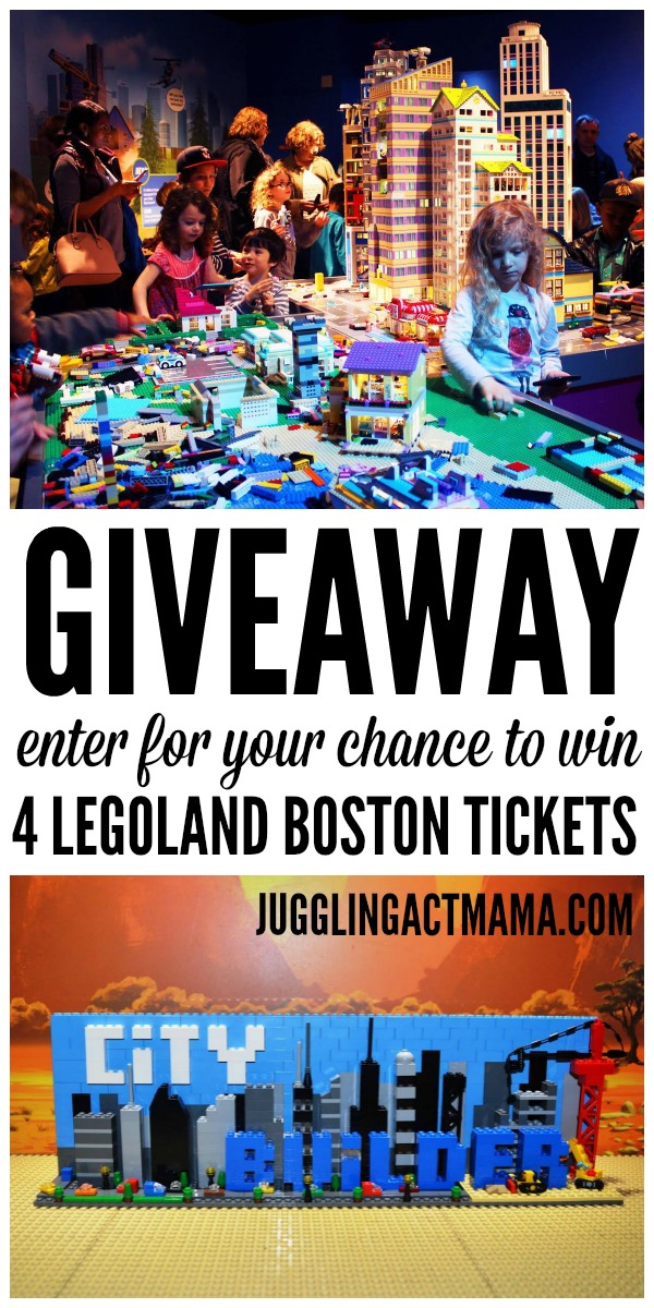 LEGOLAND Boston Giveaway #sponsored