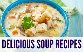 Delicious Soup Recipes + Giveaway