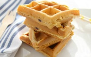 Delicious Blueberry Lemon Waffles