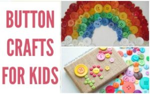 Creative Button Crafts #BoredomBusters