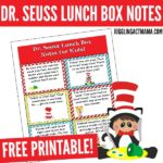 Download the Free Dr. Seuss Lunch Box Notes Printable