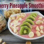 Strawberry Pineapple Smoothie Bowl