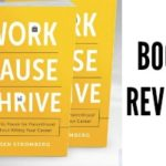 Work PAUSE Thrive Book Review + Giveaway