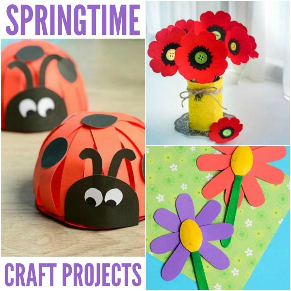 Springtime Crafts #BoredomBusters