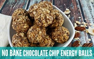 Chocolate Chip No Bake Energy Balls