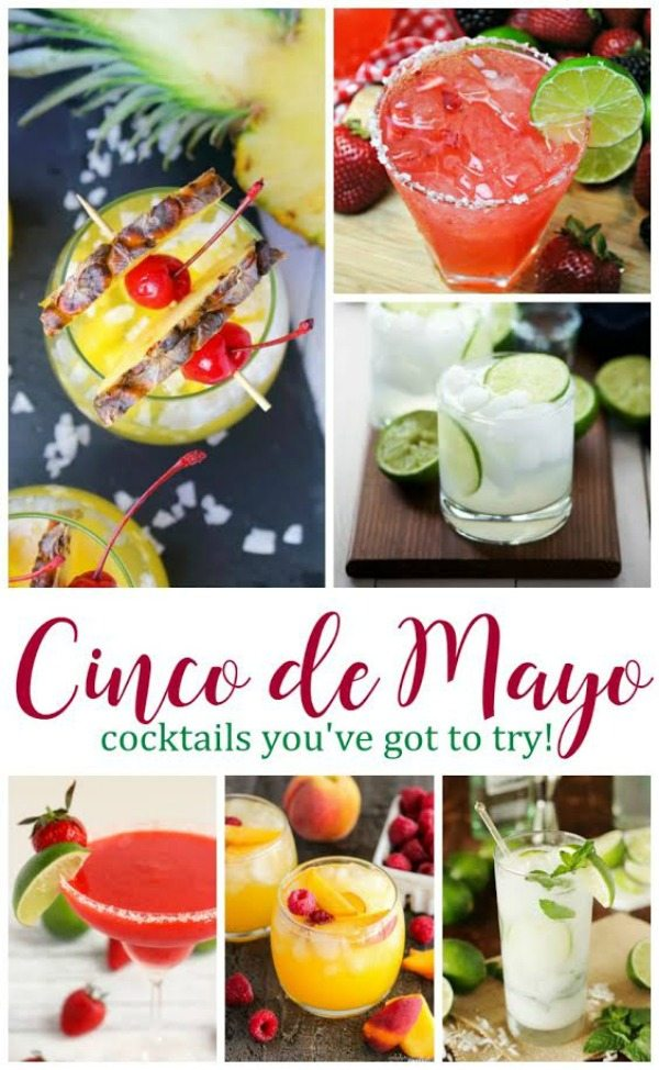 CINCO DE MAYO COCKTAILS