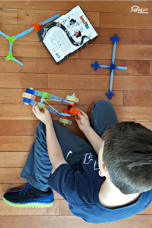 Unique Easter Baskets + Gifts STEM toys #Brackitz #ad #YumSpaBeauty #EdibleEaster #OshKoshKids
