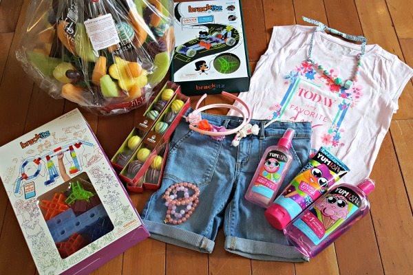 Unique Easter Baskets + Gifts #ad #BabbleBoxx #YumSpaBeauty #Brackitz #EdibleEaster #OshKoshKids