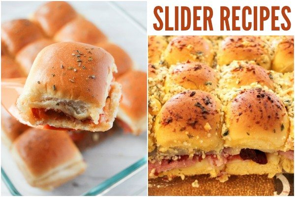 Sensational Slider Recipes to Feed a Hungry Crowd collage