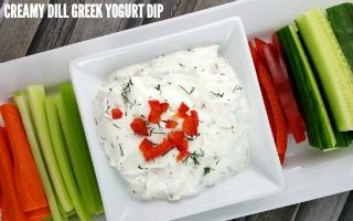 Creamy Dill Greek Yogurt Dip