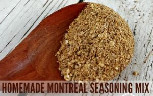 Homemade Montreal Seasoning Mix
