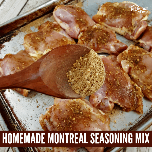 Forget exensive brands, make your own homemade Montreal seasoning mix in just minutes!