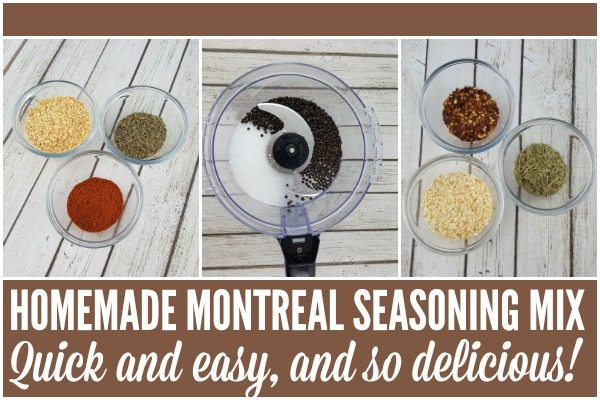 Quick and easy Homemade Montreal Seasoning Mix