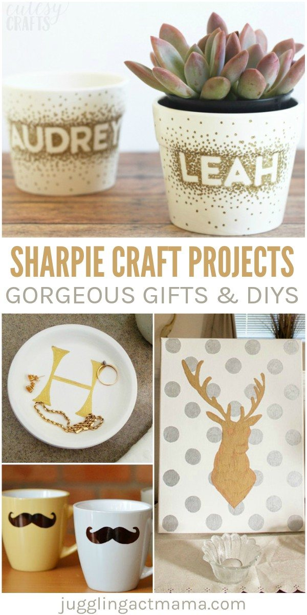 Easy sharpie craft projects anyone can do juggling act mama for Anyone can craft