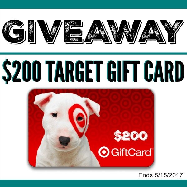 Summer Target Giveaway - win $200