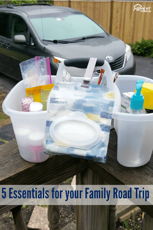 5 Essentials for your Family Road Trip #ad