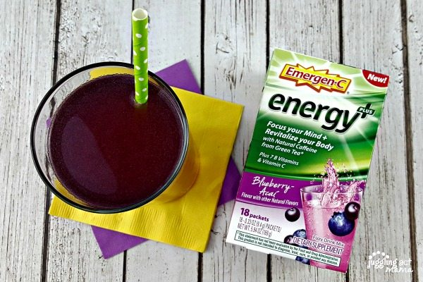 Blueberry Acai Emergen-C energy + at Walgreens #ad