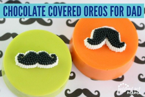 CHOCOLATE COVERED OREOS FOR DAD #FathersDay