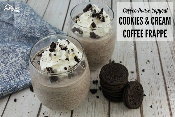 Cookies and Cream Coffee Frappe with International Delight and Reddi-Wip #ad
