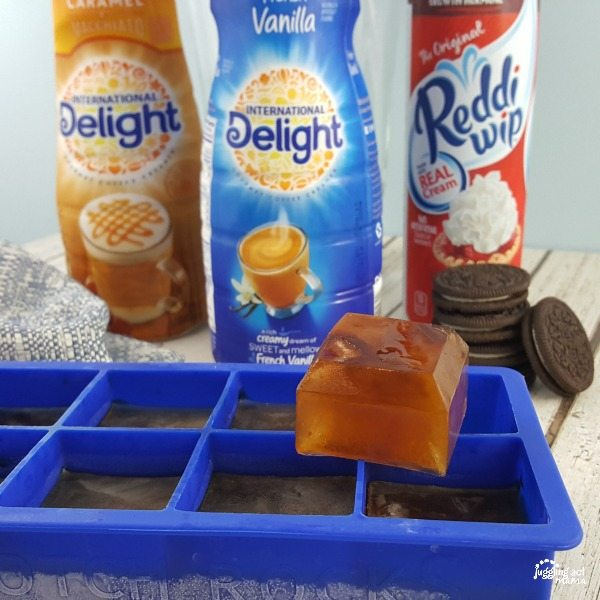 Cookies and Cream Coffee Frappe with International Delight and Reddi-Wip
