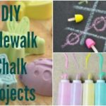 Fun DIY Sidewalk Chalk Projects + Giveaway