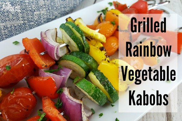 Grilled Rainbow Kabobs