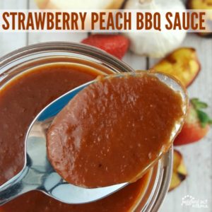 STRAWBERRY PEACH BBQ SAUCE