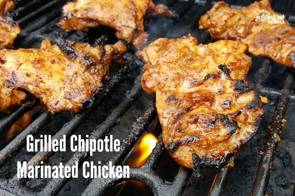Spicy and delicious Grilled Chipotle Marinated Chicken