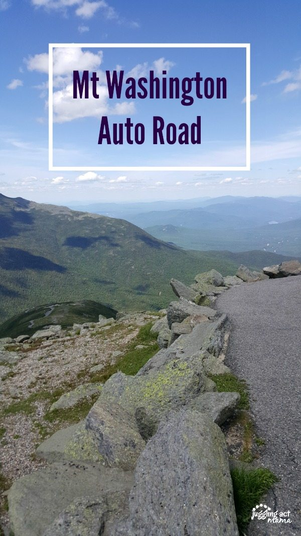 Drive the Mt Washington Auto Road during your family vacation in the White Mountains #ad #NH #WMA #BucketList