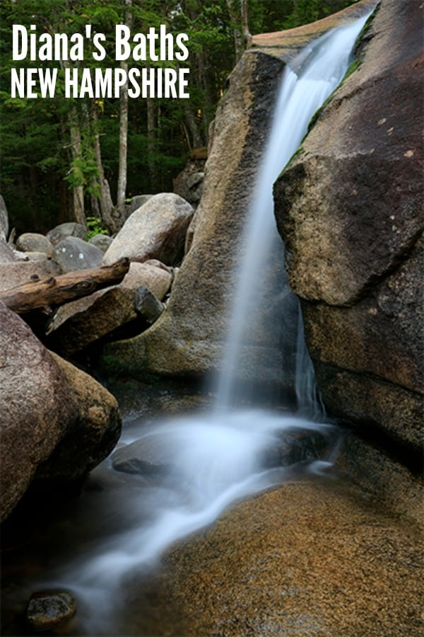 Explore family friendly Diana's Baths in New Hampshire