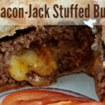 BBQ Bacon-Jack Stuffed Burgers