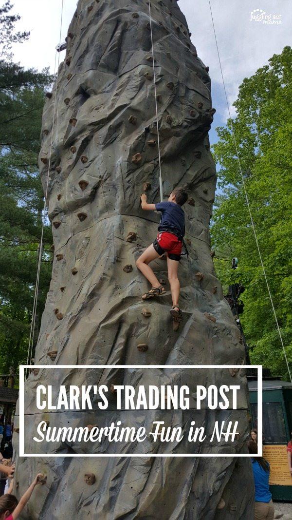 Climbing Wall at Clarks Trading Post #ad - Visit Clarks Trading Post in NH