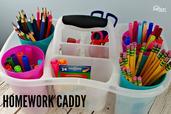 Homework Caddy