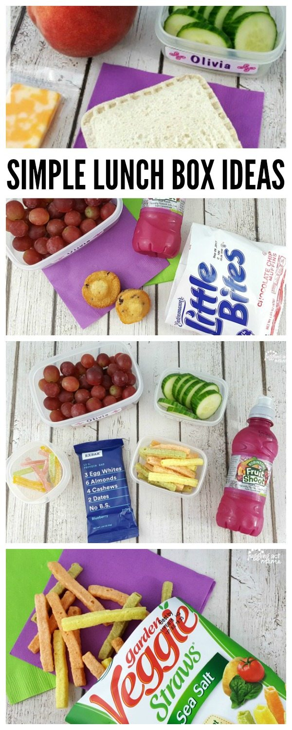 Simple Lunch Box Ideas and more for Back to School #SchoolEatsBBox #ad