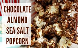 Chocolate Almond Sea Salt Popcorn