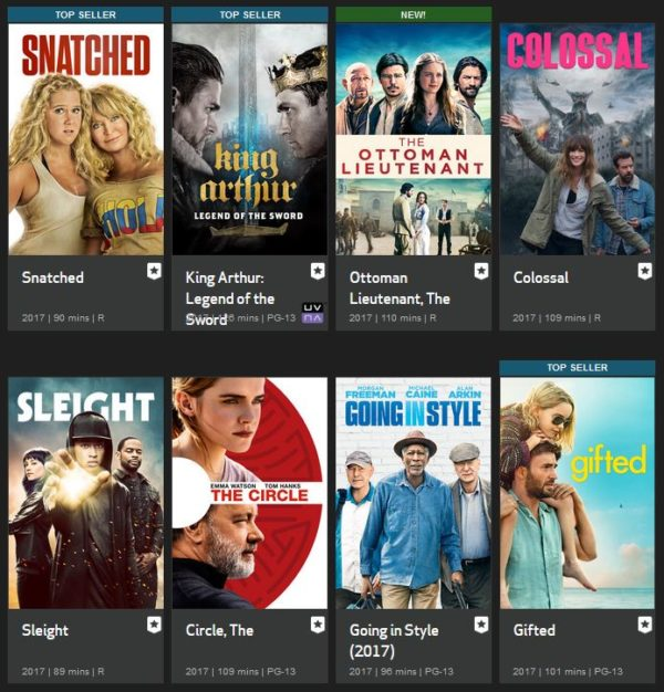 Verizon FIOS Movies on Demand