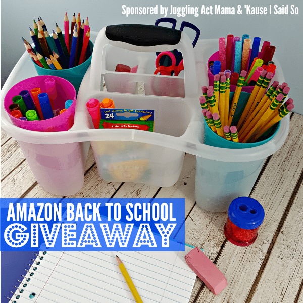 Amazon Back to School Giveaway 2017