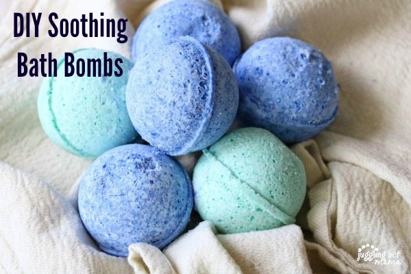 DIY Soothing Bath Bombs