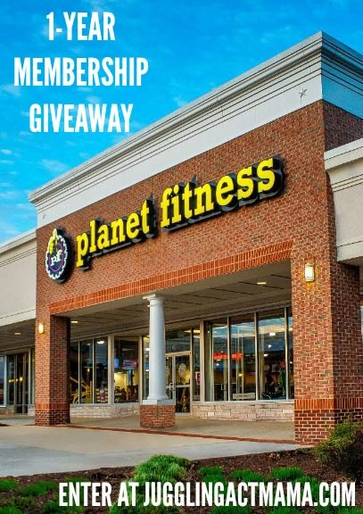 1 YEAR Planet Fitness Membership Giveaway