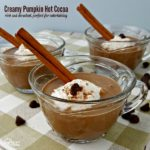 Creamy Pumpkin Hot Cocoa is perfect for Fall entertaining
