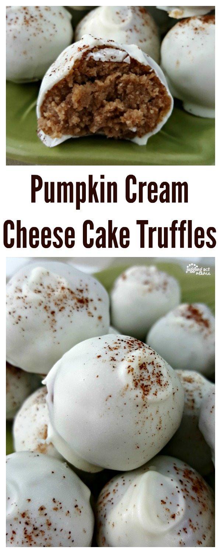 Rich and Decadent Pumpkin Cream Cheese Cake Truffles